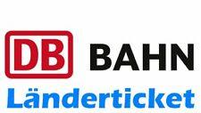 █ BAHN 20 Euro - Gutschein für Länderticket / Quer-durchs-Land-Ticket / eCoupons