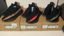 LOT DS NEW 2016 ADIDAS YEEZY BOOST 350 V2 SIZE 4 RED COPPER GREEN FRIDAY SET 3.5