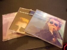 PET SHOP BOYS YOU ONLY TELL ME THAT YOU LOVE ME WHEN YOU'RE DRUNK 3 CD