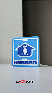 Decorative HASBRO self standing logo display (1978-1993)