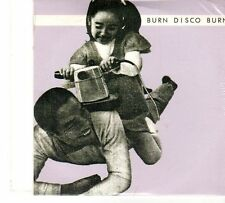 (FT696) Burn Disco Burn,  Busy Driving - sealed DJ CD