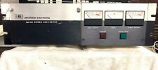 Vintage Broadcast Electronics BE FM-601 Stereo limiter/AGC #937-0601