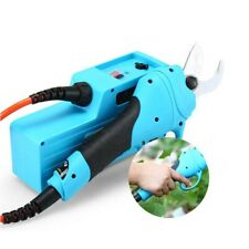 30mm Electric Pruner Garden Pruning Shear Snips Secateurs Pruners /1.7m Rod