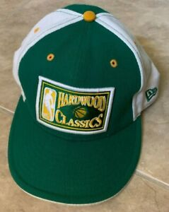 New Era 59Fifty Hardwood Classics Boston Celtics Fitted Hat Cap Mens 7 5/8 NEW