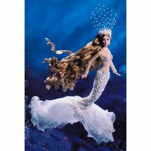 Mattel Enchanted Mermaid Barbie Doll 2001 Limited Edition 53978