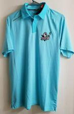 San Diego Gulls Ahl Under Armour Men's Threadborne Golf Polo Shirt Size Medium