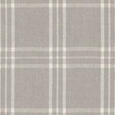 Ralph Lauren Upholstery Fabric- Cross Wind Plaid Oyster Cream 2.30 yd LCF65841F