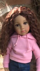 Tanya Collectible 13 inch doll by Dianna Effner, with two wigs