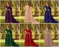 Anarkali Salwar Kameez Indian Bollywood Designer Shalwar Pakistani Party Suit RD