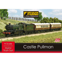 Graham Farish 370-160 Castle Pullman DIGITAL SOUND Effects Train Set (N Gauge)