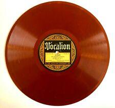 1922 Record, Vocalion Red 78 Rpm, Goldstein, Jewish Yiddish, Die Griene Cuisiene
