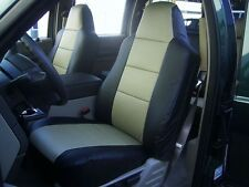 FORD F-250 F-350 F-450 2005-2012 IGGEE S.LEATHER CUSTOM FIT SEAT COVER 13COLORS
