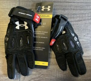 Under Armour Player II Women's Lacrosse Gloves Black Small PLA15GLW-S-BLK