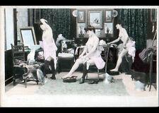 ARTISTE / Scéne de NU dans LOGE de L'OPERA / essayage de VOILAGES avant 1904