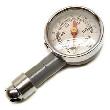 Dial de Presión del Neumático Rueda Calibre 10 100psi medida bici/coche TE018