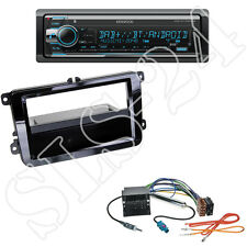 Kenwood kdc-x7200dab CD/USB radio + vw eos Golf V VI plus din diafragma + adaptador ISO