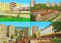 AK, Frankfurt Oder, vier innerstädtische Abb., 1977