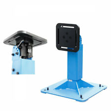 New listing Rotary Table Horizontal Vertical 0-90 Pedestal 330/660 Lbs Weld Positioner
