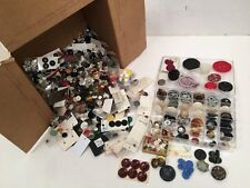Antique & Vintage and Modern Buttons Mixed Lot Large Collection Old hard to find