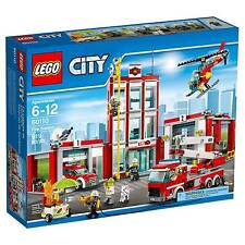 LEGO City Fire Station (60110) SEALED NEW IN THE BOX