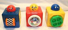 New listing Fisher Price, Lot of 3 Stacking Activity Blocks