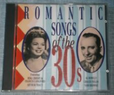 Various Artists - Romantic Songs of the 30's  CD ALBUM