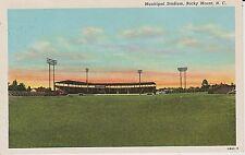 1940's The Municipal Stadium in Rocky Mount, NC North Carolina PC