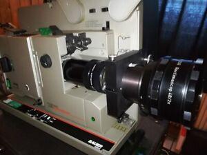 16mm Bauer P8 P7 P6 CS Halter Cinemascope Projektor Anamorphot Halter Projektor.