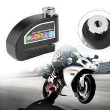 Waterproof Motorcycle Bicycle Anti-theft Wheel Disc Brake Lock w/ Security Alarm