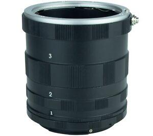 Macro Extension Tube Mount For Canon EOS DSLR cameras 750D 7D 650D 1300D 1200D