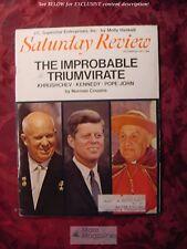 Saturday Review October 30 1971 JOHN F KENNEDY POPE JOHN ALICIA DE LARROCHA