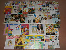 70- THE SIMPSONS Magazine Clippings