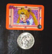 SAILOR MOON MINI CARD CARDDASS PRISM CARTE EX-13 BANDAI MADE JAPAN 1993 NM 1