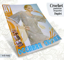 Duplet en Patrón De Ganchillo Revista-Self Tutorial de estudio Vestido De Encaje 165 Guantes