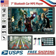 Bluetooth FM Player Stereo Radio Car 7'' HD MP5 Touch Screen +  Remote Control