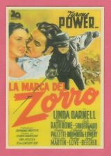 Spanish Pocket Calendar #244 - The Mark of Zorro Film Poster Tyrone Power