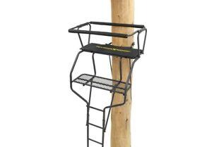 New Rivers Edge Re649 2-Man Ladder Stand 18' 2-Man