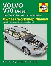 Volvo V70 Diesel Service and Repair Manual: 2007-2012 by Chris Randall (Hardback, 2012)