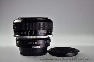 NIKON AI NIKKOR 55mm f/1.2 Excellent