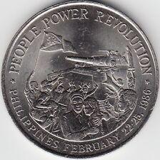 PHILIPPINES / 10 PISO, AU- 1988 PEOPLE POWER REVOLUTION