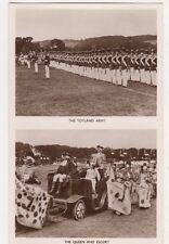 Tidworth Military Tattoo, Toyland Army / Queen & Escort RP Postcard, B608