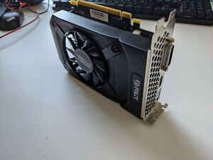 Palit 1050Ti StormX 4GB graphics card hardly used