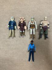 Vintage Kenner Star Wars Figures Lot Of 5