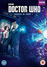 DOCTOR WHO Series 10 Ten  PART 1 SEALED/NEW dvds Dr. Who season ten part one 10