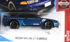 New 2019 Hot Wheels Nissan Skyline GTR BNR32 Short Card HW Nissan 1/250