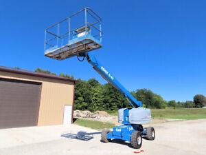 2001 Genie S-40 40' 4WD Diesel Telescopic Boom Lift Man Aerial Platform bidadoo