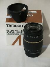 Tamron A09 SP 28-75mm F/2.8 XR Di LD Aspherical Lens for Pentax K