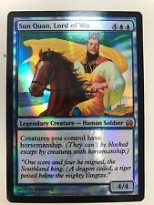 MAGIC MtG - SUN QUAN, LORD OF WU  - NM ENG FOIL - FROM THE VAULT LEGENDS