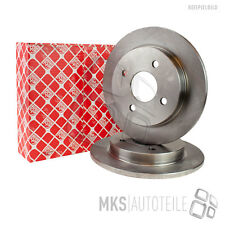 2 x Original FEBI Bremsscheiben Vorderachse Alfa Romeo 147 156 164 Fiat Croma
