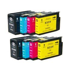 8PK 932XL 933XL Ink Cartridge NON-OEM for HP Officejet 6100 6600 6700 7110 7610